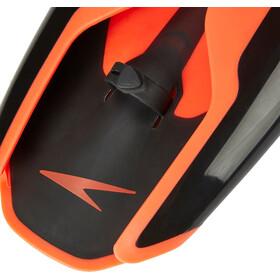 speedo Fastskin Handpaddel, black/siren red
